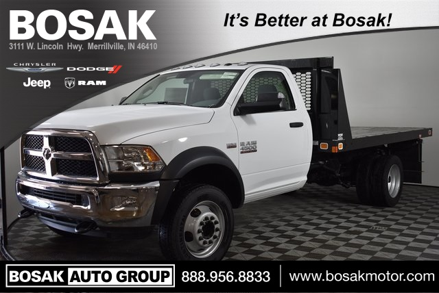 2018 Ram 4500 Regular Cab DRW 4x2,  Knapheide Value-Master X Platform Body #M181356 - photo 1