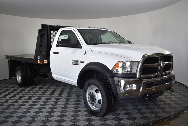 2018 Ram 4500 Regular Cab DRW 4x2,  Knapheide Value-Master X Platform Body #M181356 - photo 6