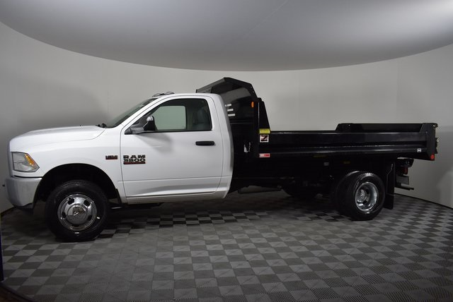 2018 Ram 3500 Regular Cab DRW 4x2,  Monroe Dump Body #M181445 - photo 3
