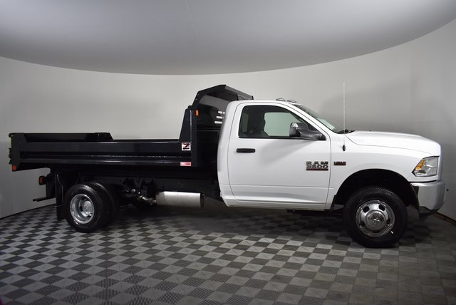 2018 Ram 3500 Regular Cab DRW 4x2,  Monroe Dump Body #M181445 - photo 5