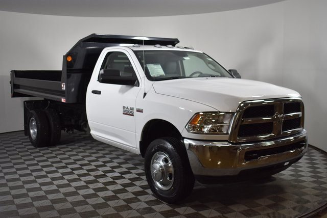 2018 Ram 3500 Regular Cab DRW 4x2,  Monroe Dump Body #M181445 - photo 6