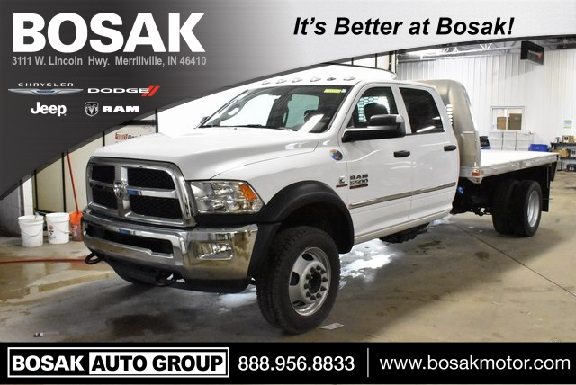 2018 Ram 5500 Crew Cab DRW 4x4,  Knapheide Platform Body #M181474 - photo 1