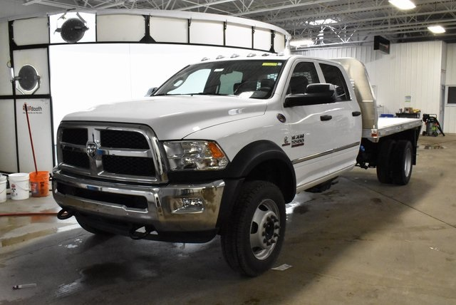 2018 Ram 5500 Crew Cab DRW 4x4,  Knapheide Platform Body #M181474 - photo 9