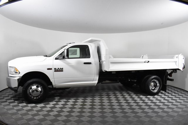2018 Ram 3500 Regular Cab DRW 4x2,  Knapheide Drop Side Dump Body #M181475 - photo 3