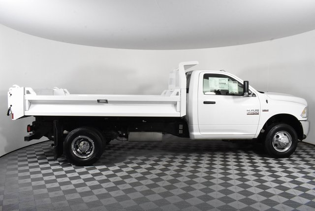 2018 Ram 3500 Regular Cab DRW 4x2,  Knapheide Drop Side Dump Body #M181475 - photo 4