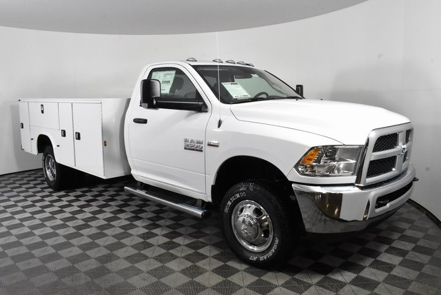 2018 Ram 3500 Regular Cab DRW 4x4,  Knapheide Service Body #M181497 - photo 6