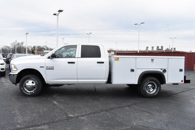 2018 Ram 3500 Crew Cab DRW 4x4,  Monroe Service Body #M181515 - photo 3