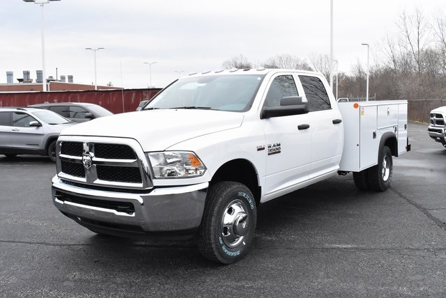 2018 Ram 3500 Crew Cab DRW 4x4,  Monroe Service Body #M181515 - photo 9