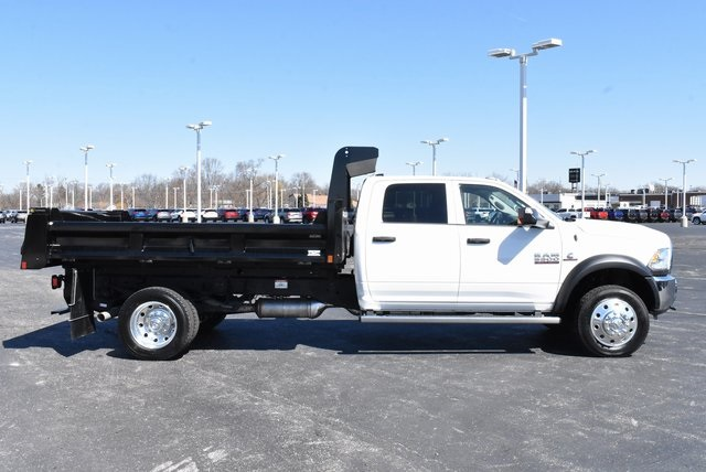 2018 Ram 5500 Crew Cab DRW 4x4,  Rugby Dump Body #M181517 - photo 3