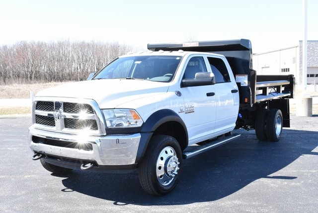 2018 Ram 5500 Crew Cab DRW 4x4,  Rugby Dump Body #M181517 - photo 6