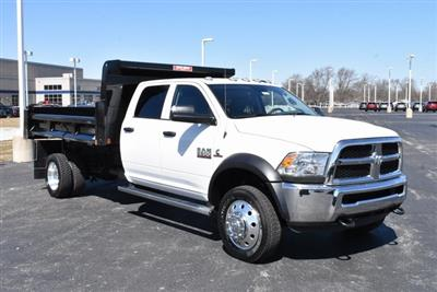 2018 Ram 5500 Crew Cab DRW 4x4,  Rugby Eliminator LP Steel Dump Body #M181517 - photo 4