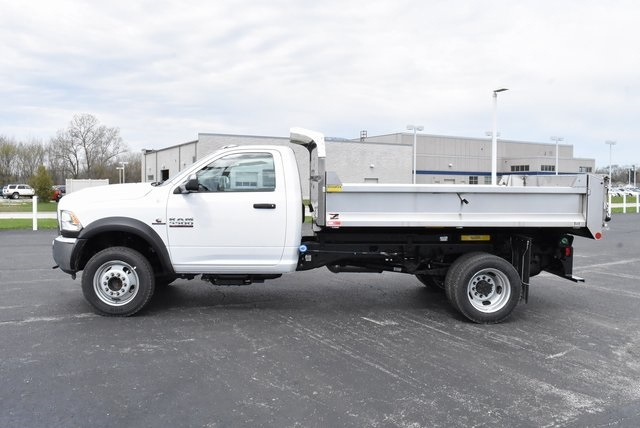 2018 Ram 5500 Regular Cab DRW 4x4,  Monroe Dump Body #M181524 - photo 1