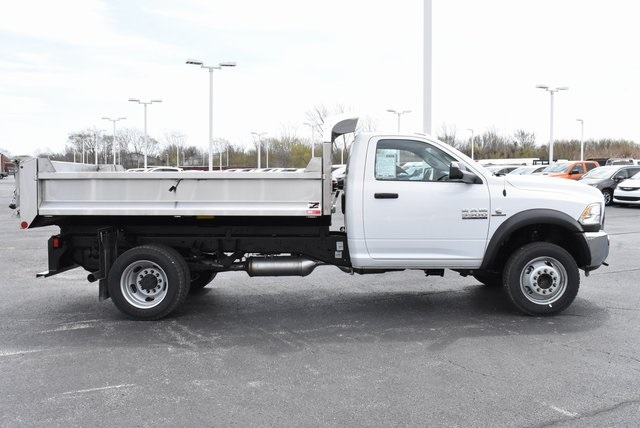 2018 Ram 5500 Regular Cab DRW 4x4,  Monroe Dump Body #M181524 - photo 3