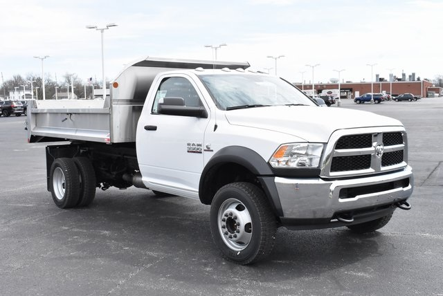2018 Ram 5500 Regular Cab DRW 4x4,  Monroe Dump Body #M181524 - photo 4