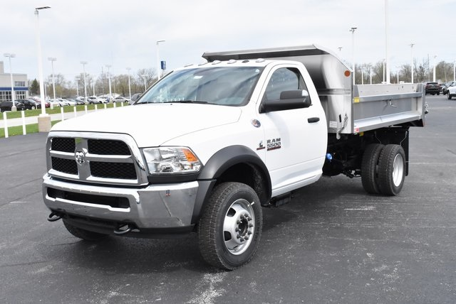 2018 Ram 5500 Regular Cab DRW 4x4,  Monroe Dump Body #M181524 - photo 6