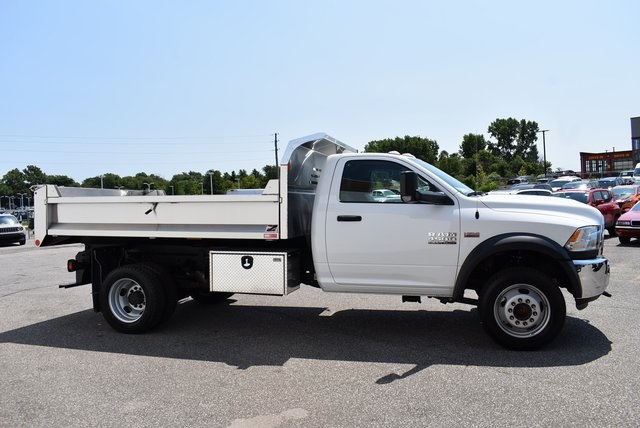 2018 Ram 4500 Regular Cab DRW 4x4,  Monroe Dump Body #M18915 - photo 4