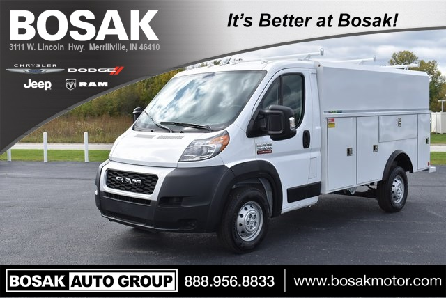2019 ProMaster 3500 Standard Roof FWD,  Reading Service Utility Van #M191175 - photo 1