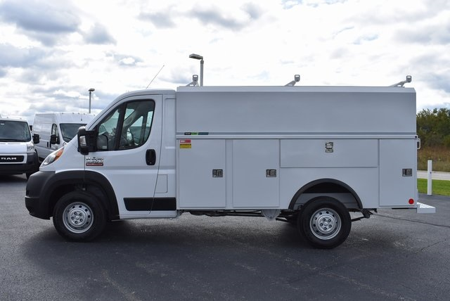 2019 ProMaster 3500 Standard Roof FWD,  Reading Service Utility Van #M191175 - photo 3