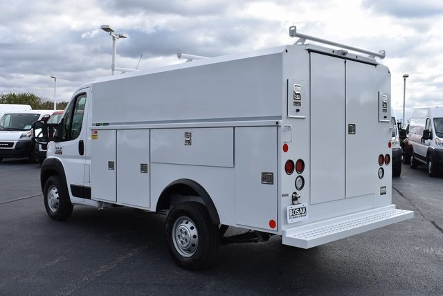 2019 ProMaster 3500 Standard Roof FWD,  Reading Aluminum CSV Service Utility Van #M191175 - photo 2