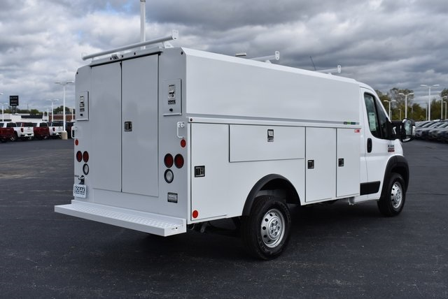 2019 ProMaster 3500 Standard Roof FWD,  Reading Aluminum CSV Service Utility Van #M191175 - photo 5