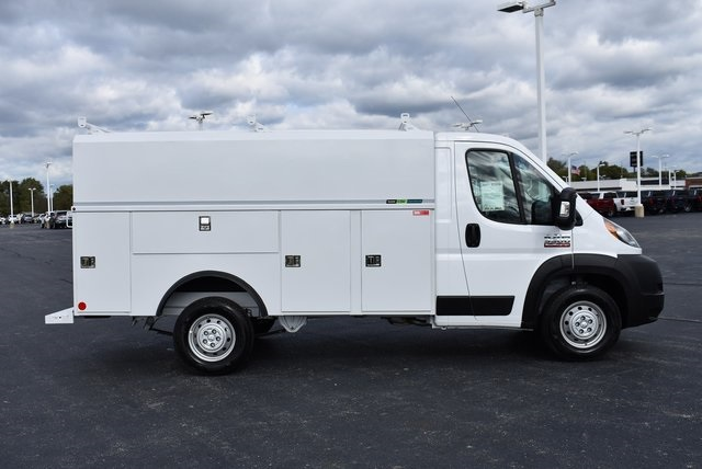 2019 ProMaster 3500 Standard Roof FWD,  Reading Aluminum CSV Service Utility Van #M191175 - photo 6