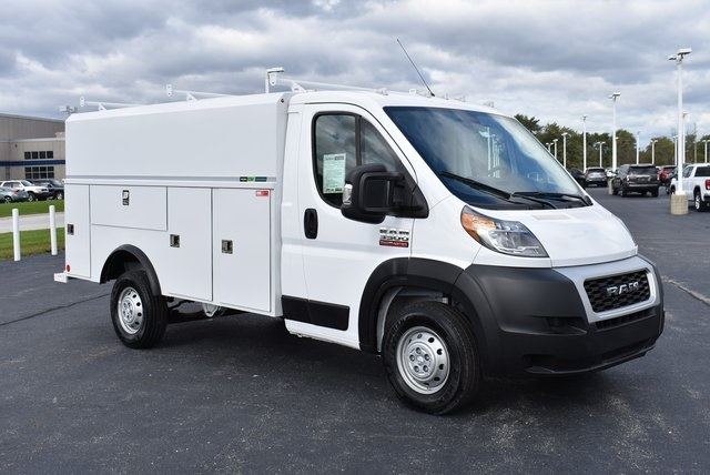 2019 ProMaster 3500 Standard Roof FWD,  Reading Service Utility Van #M191175 - photo 7