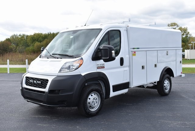 2019 ProMaster 3500 Standard Roof FWD,  Reading Aluminum CSV Service Utility Van #M191175 - photo 9