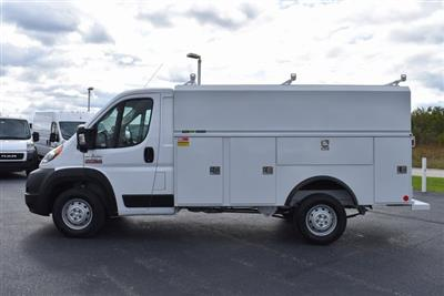 2019 ProMaster 3500 Standard Roof FWD,  Reading Aluminum CSV Service Utility Van #M191175 - photo 3