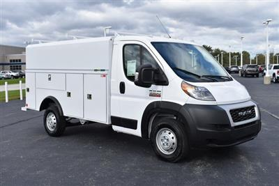 2019 ProMaster 3500 Standard Roof FWD,  Reading Aluminum CSV Service Utility Van #M191175 - photo 7