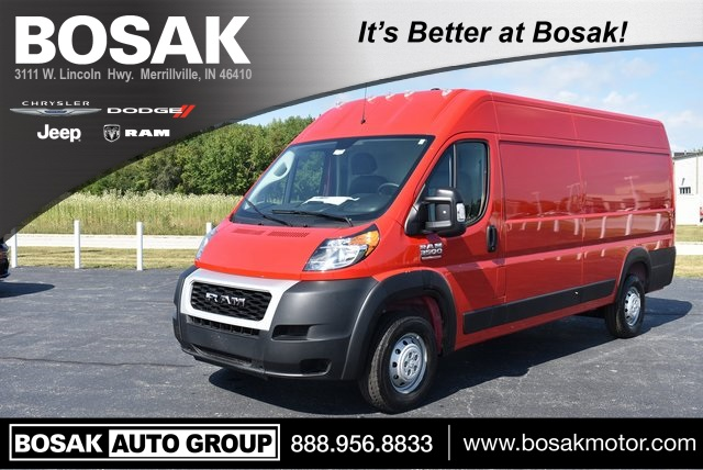 2019 ProMaster 3500 High Roof FWD,  Empty Cargo Van #M191400 - photo 1