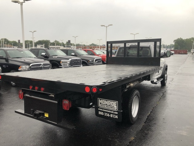 2019 Ram 5500 Regular Cab DRW 4x4,  Monroe Versa-Line Stake Body Stake Bed #M191483 - photo 4