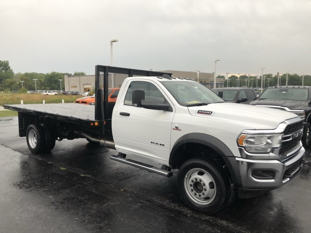2019 Ram 5500 Regular Cab DRW 4x4,  Monroe Versa-Line Stake Body Stake Bed #M191483 - photo 5
