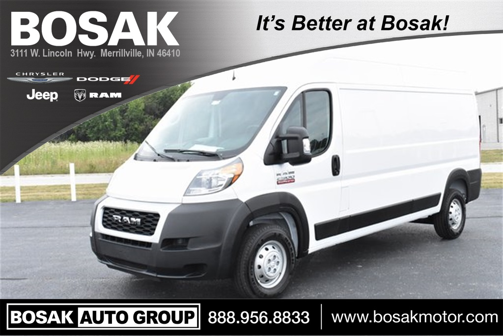 2019 ProMaster 2500 High Roof FWD, Empty Cargo Van #M191515 - photo 1