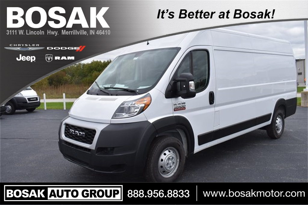 2019 ProMaster 3500 High Roof FWD, Empty Cargo Van #M191569 - photo 1