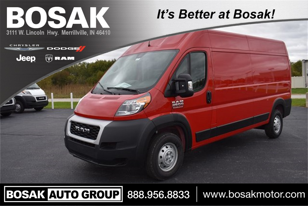 2019 ProMaster 2500 High Roof FWD, Empty Cargo Van #M191584 - photo 1