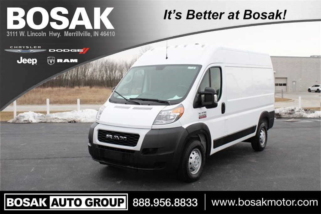 2019 ProMaster 1500 High Roof FWD, Empty Cargo Van #M191630 - photo 1