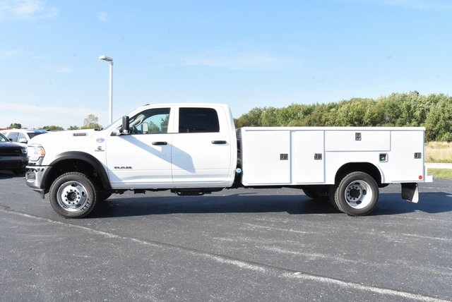 2019 Ram 5500 Crew Cab DRW 4x4, Reading Classic II Steel Service Body #M191645 - photo 3
