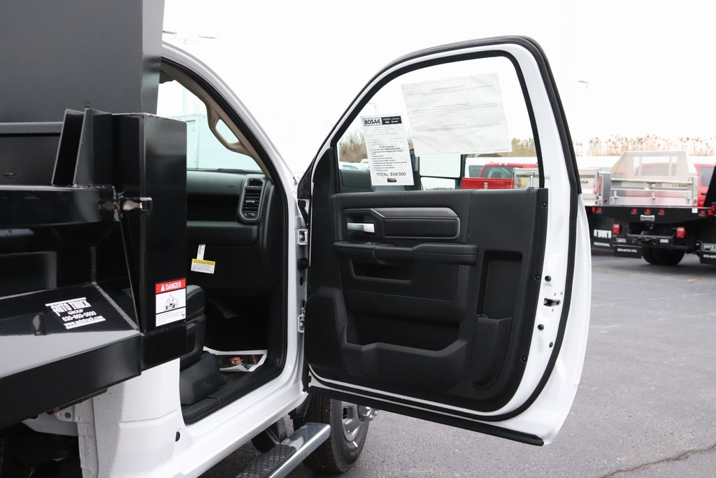 2019 Ram 3500 Regular Cab DRW 4x4, Imperial Dump Body #M191686 - photo 25