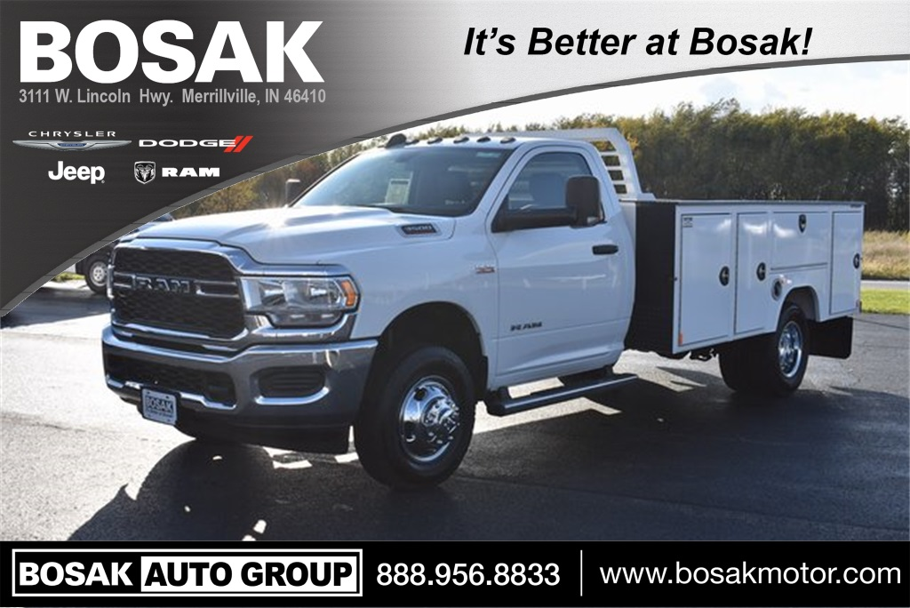 2019 Ram 3500 Regular Cab DRW 4x4, Duramag S Series Service Body #M191735 - photo 1