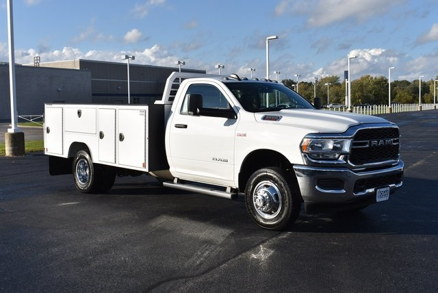 2019 Ram 3500 Regular Cab DRW 4x4, Duramag S Series Service Body #M191735 - photo 7