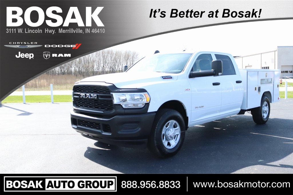 2019 Ram 2500 Crew Cab 4x2, Reading Service Body #M191847 - photo 1