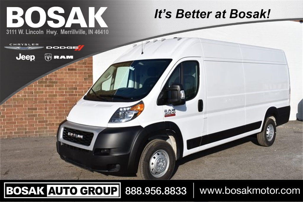 2019 ProMaster 3500 High Roof FWD,  Empty Cargo Van #M19440 - photo 1