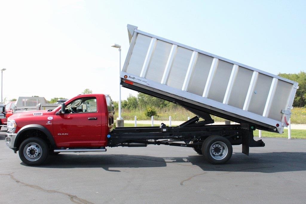 2020 Ram 5500 Regular Cab DRW 4x4, Tafco Landscape Dump #M201008 - photo 17