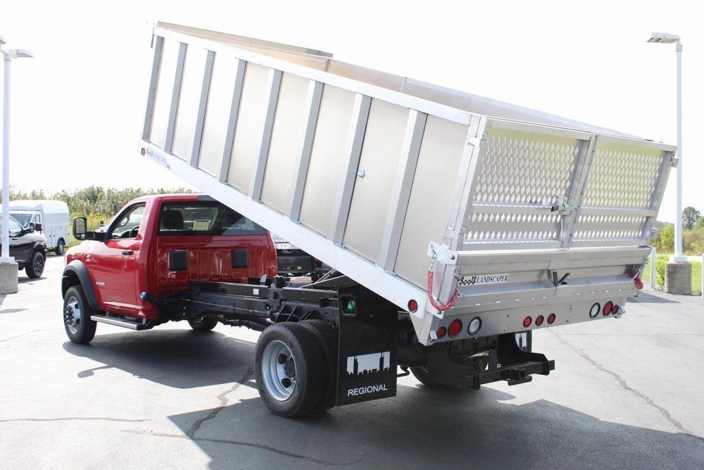 2020 Ram 5500 Regular Cab DRW 4x4, Tafco Landscape Dump #M201008 - photo 18