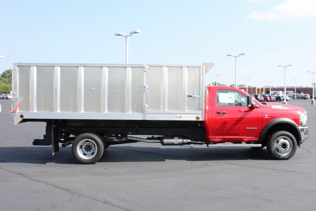 2020 Ram 5500 Regular Cab DRW 4x4, Tafco Landscape Dump #M201008 - photo 11
