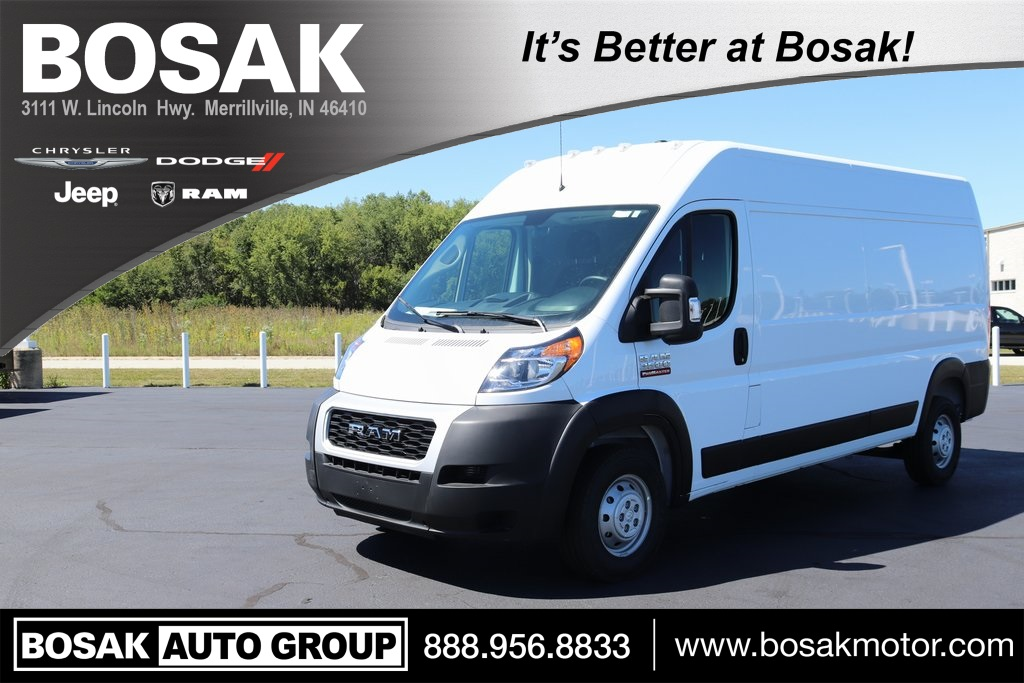 2020 Ram ProMaster 3500 High Roof FWD, Empty Cargo Van #M201029 - photo 1