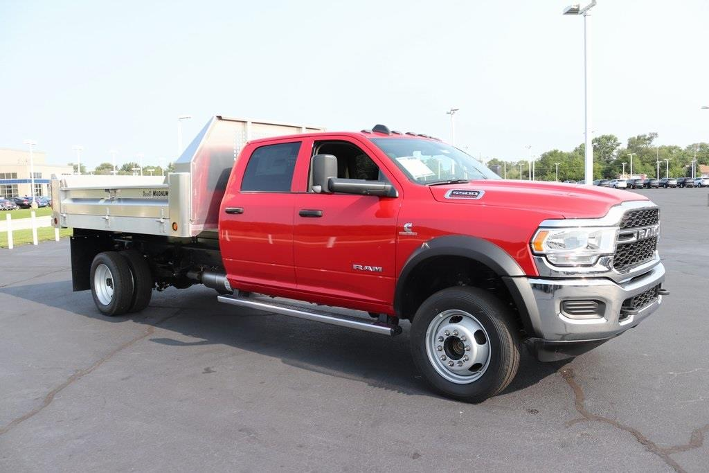 2020 Ram 5500 Crew Cab DRW 4x4, Tafco Dump Body #M201049 - photo 7