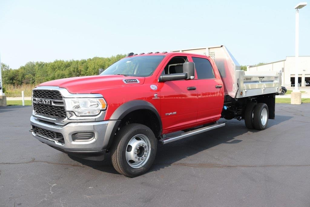2020 Ram 5500 Crew Cab DRW 4x4, Tafco Dump Body #M201049 - photo 9