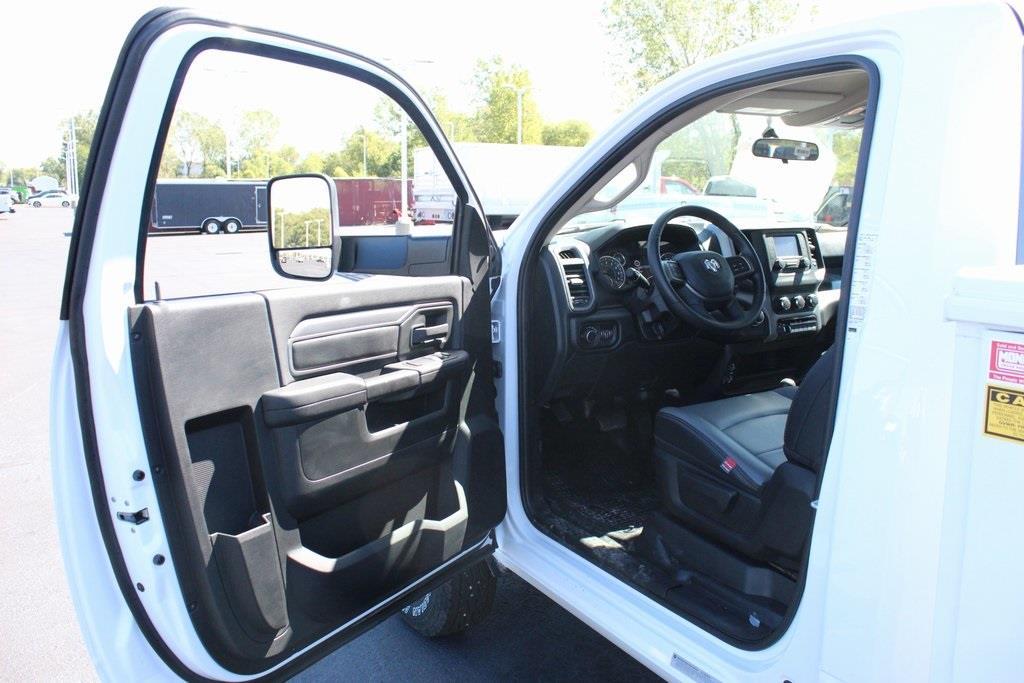 2020 Ram 3500 Regular Cab DRW 4x4, Reading Classic II Steel Service Body #M201114 - photo 10