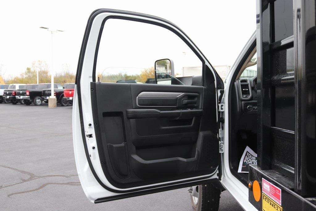 2020 Ram 4500 Regular Cab DRW 4x4, Monroe Work-A-Hauler II Stake Bed #M201198 - photo 21